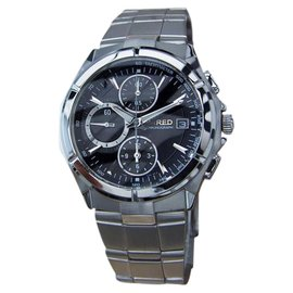 Seiko Wired Stainless Steel Chronograph 41mm Mens Watch