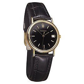 Tissot Swiss Made Quartz Gold Plated Mens 31mm Watch c2000