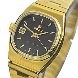 Rado Moncherie Swiss Made Automatic Gold Plated Dress 24mm Womens Watch 1960