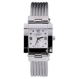 Charriol Geneve Stainless Steel Watch White Dial Quartz 25mm Women's Watch