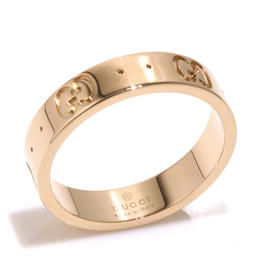 Gucci 18K Rose Gold Ring Size 5
