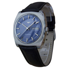 Longines Automatic Stainless Steel Swiss Made Vintage 36mm Mens Watch 1970s