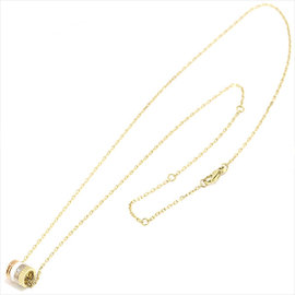 Boucheron 18K White Yellow Rose Gold Diamond Ceramic Quatre White Necklace