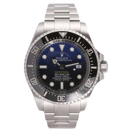 Rolex Sea-Dweller 116660 Custom Blue Dial Stainless Steel 44mm Divers Mens Watch