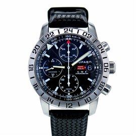Chopard Mille Miglia 8992 Stainless Steel & Rubber Black Dial Automatic 42mm Men's Watch
