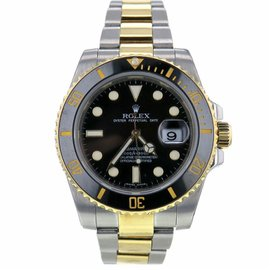 Rolex Submariner 116613 Two Tone Stainless Steel Black Dial Automatic 41mm Mens Watch 2009
