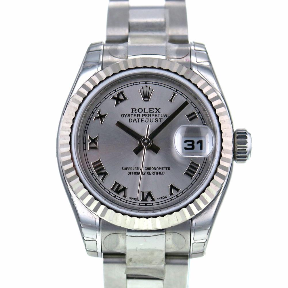 """Image of """"Rolex DateJust 179174 Stainless Steel & 18K White Gold Automatic 26mm"""""""