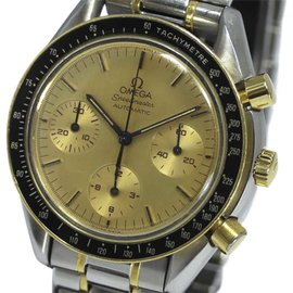 Omega Speedmaster 3310.10 18K Yellow Gold and Stainless Steel Automatic 39mm Mens Watch