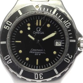 Omega Seamaster Professional 200m Stainless Steel Stainless Steel 36mm Mens Wrist Watch