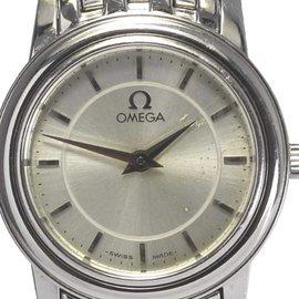 Omega DeVille Prestige 4570.31.00 Stainless Steel Silver Quartz 22mm Womens Watch