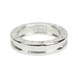 Bulgari B-zero1 18K White Gold Ring Size 4.25