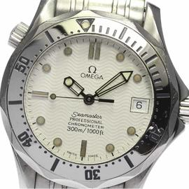 Omega Seamaster Professional 300 2552.20 Stainless Steel Date Automatic 36mm Mens Watch