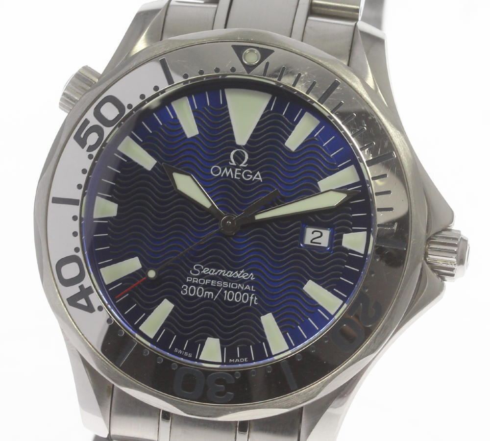 "Image of ""Omega Seamaster Professional 300 2265.80 Stainless Steel Quartz 41mm"""