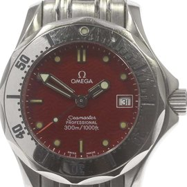 Omega Seamaster Professional 300m 2582.62 Stainless Steel Quartz 29mm Womens Watch