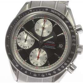 Omega Speedmaster Date Chronograph 3210.51 Stainless Steel Automatic 40mm Mens Watch