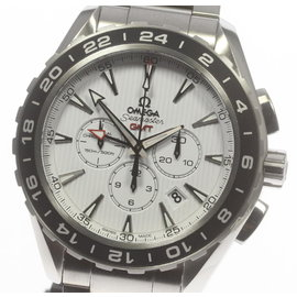 Omega Seamaster Aqua Terra GMT 231.10.44.52.04.001 Stainless Steel 44 mm Mens Watch