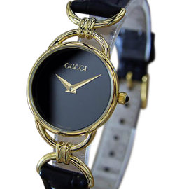 Gucci 600.2L Gold Plated Quartz 23mm Womens Watch