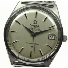 Omega Constellation Stainless Steel 34mm Mens Watch
