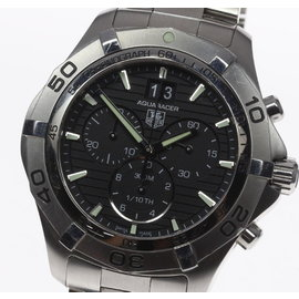 Tag Heuer Aquaracer Grande Date CAF101E.BA0821 Stainless Steel 43mm Mens Watch