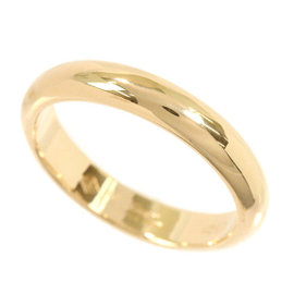 Cartier 18K Yellow Gold Classic Band Ring Size 4.75