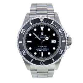 Rolex Sea-Dweller 16600 Stainless Steel Black Dial Automatic 40mm Mens Watch 1995