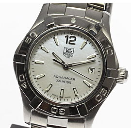 Tag Heuer Aquaracer WAF1414 Stainless Steel 28mm Womens Watch