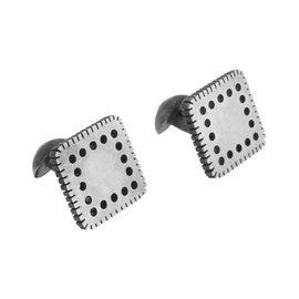 Gurhan 925 Sterling Silver Square Cufflinks