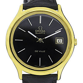 Omega Deville Stainless Steel and Gold Plated 33mm Mens Watch
