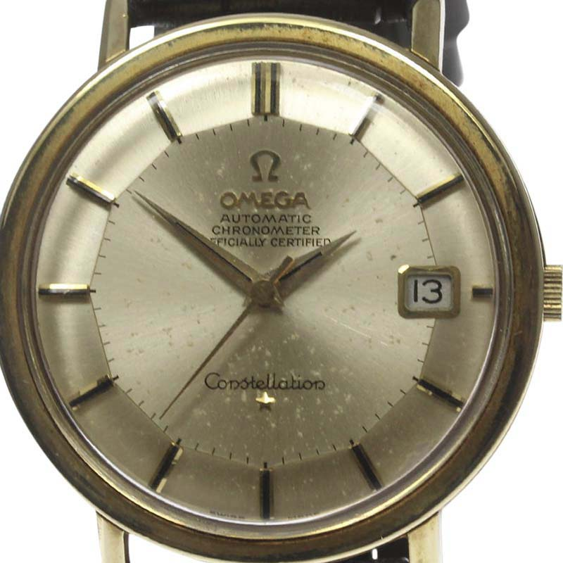 """Image of """"Omega Constellation Stainless Steel / Gold Plated Pie Pan Dial"""""""