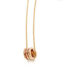 Bulgari B-Zero1 18K Rose Gold Necklace