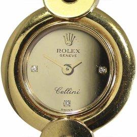 Rolex Cellini 2294/8 18K Gold 22mm Womens Watch