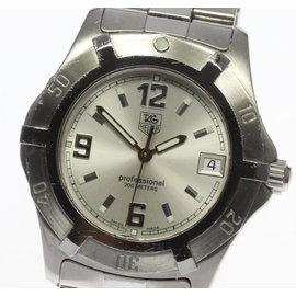 Tag Heuer Professional Exclusive WN1113 Stainless Steel 38mm Mens Watch
