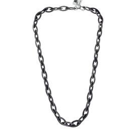 Gurhan 925 Sterling Silver & Palladium Marquise Link Necklace