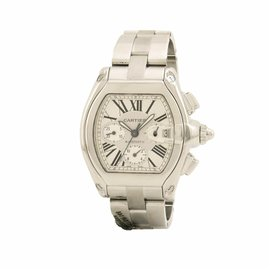 Cartier Roadster W62019X6 Stainless Steel Automatic 43mm Mens Watch