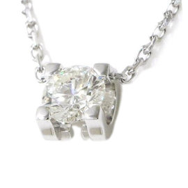 Cartier 18K White Gold 0.31ct Diamond Necklace