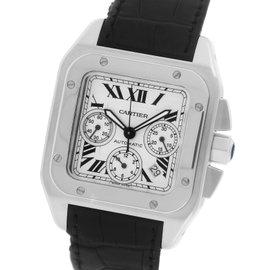Cartier Santos 100 XL W20090X8 Stainless Steel 41.25mm Mens Watch