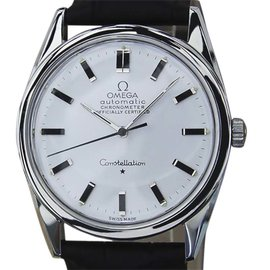 Omega Constellation Stainless Steel Automatic 33mm Mens Watch Year 1960