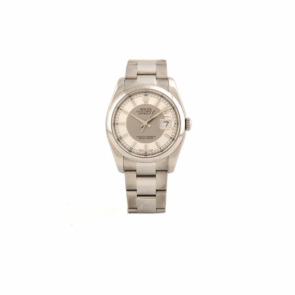"""Image of """"Rolex DateJust 116200 Stainless Steel Silver Dial Automatic 36mm Mens"""""""