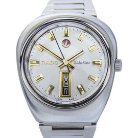 Rado Golden Gate Stainless Steel Automatic 38mm Mens Watch 1960s