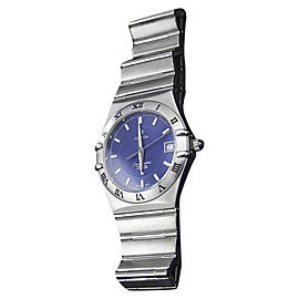 Omega Constellation Perpetual Calendar Stainless Steel Quartz 36mm Mens Watch c2000