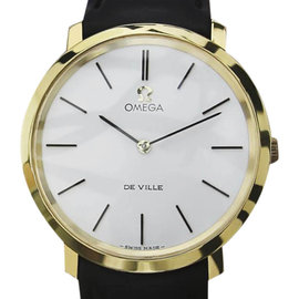 Omega DeVille Swiss Made Gold Plated Manual Mens 33mm Watch 1980