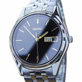 Seiko Stainless Steel Quartz 35mm Mens Dress Watch 1970