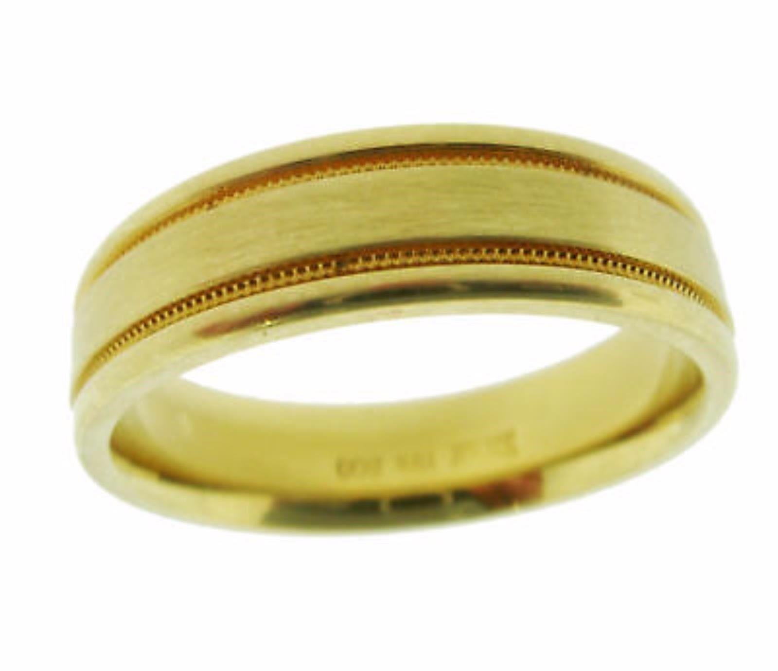 "Image of ""Scott Kay 19K Yellow Gold Band Ring Size 10"""