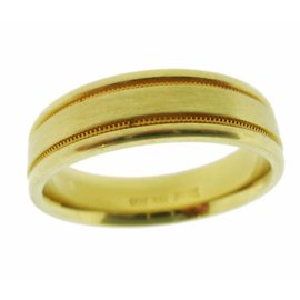 Scott Kay 19K Yellow Gold Band Ring Size 10