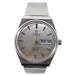 Omega Seamaster Deville Stainless Steel Automatic Vintage 35mm Mens Watch 1970's