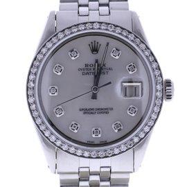 Rolex Datejust 1603 Stainless Steel 36mm Mens Watch