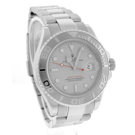 Rolex Yacht-Master 16622 Stainless Platinum Rolesium 40mm Mens Watch
