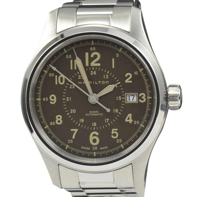 "Image of ""Hamilton Khaki Field H70305193 Stainless Steel Automatic 40mm Mens"""