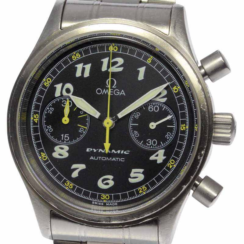 """Image of """"Omega Dynamic 5240.50 Stainless Steel With Black Dial 38mm Mens Watch"""""""
