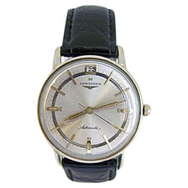 Longines 10K Yellow Gold Automatic Vintage 34.5mm Mens Watch